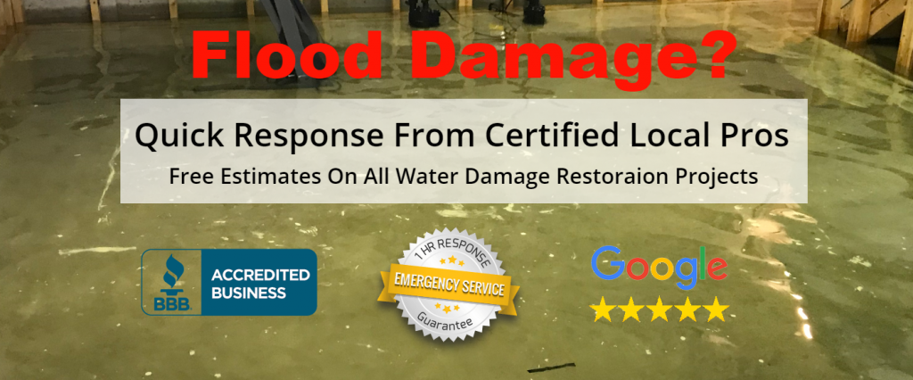 water damage in Pompano Beach
